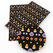 Halloween Caramelo Cuero Sintético Imitación Cuero Tela arco fabricar Craft