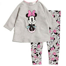 Toddler Kids Boys Girls Cartoon Pajamas Pj's Set Sleepwear Nightwear Outfits Set