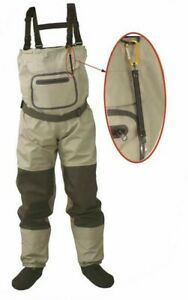 Fly Fishing Chest Waders Breathable Waterproof Stocking Wader For Men And Women