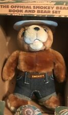 The Official Smokey And The Bear Book And Bear Set 1996 But *NO BOOK ONLY BEAR*