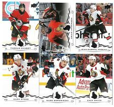 2018-19 Upperdeck Series 1 Hockey Team set OTTAWA SENATORS (6 cards)