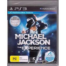 PLAYSTATION 3 MICHAEL JACKSON THE EXPERIENCE PS3 PAL AUSSIE ISSUE NEW SEALED [BN