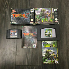 Nintendo 64 Boxed Turok Games N64 - Dinosaur Hunter & 2 Seeds of Evil