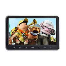 "UNIVERSALE Clip-on Car DVD/SD/USB/HDMI 10.1"" HD POGGIATESTA MONITOR SCHERMO Giochi IR"
