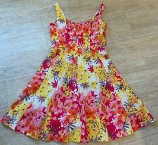 JONES WEAR DRESS sz. 8  Pink/Yellow Formal Dress w/Stays Special Occasion EUC