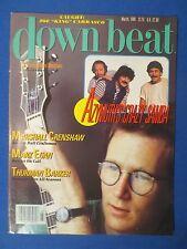 DOWN BEAT MAGAZINE MARCH 1986 MARSHALL CRENSHAW AZYMUTH MARK EGAN THURMAN BARKER