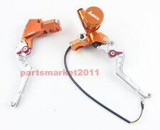 Adelin CNC PX-2 Brake Clutch Levers Master Cylinder For Ruckus Zoomer 7/8 orange
