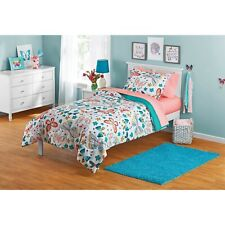 New ListingComforter set for Kids Girls -Twin size Bedding set- Bed in a bag Butterflies