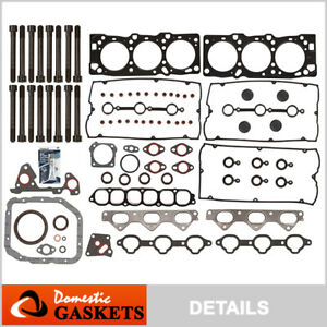 Fits 02-06 Hyundai XG350 Santa Fe Kia Amanti 3.5 DOHC Full Gasket Set Bolts G6CU