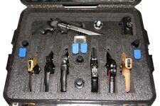 Nanuk 945 6 large Pistol Revolver Quickdraw foam insert fits your case +bonus