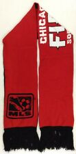 MLS Chicago Fire Adidas Winter Knit Fringe Scarf NEW!