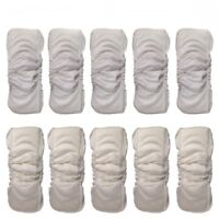 Pro 5 Layers Reusable Baby Bamboo Diapers Inserts Boosters Nappy Liners Mat Pads