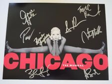CHICAGO Broadway Cast Signed Autograph 11x14 Photo by Wendy Williams + 7 COA VD