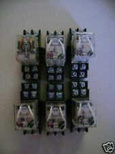 LOT OF 6 ALLEN BRADLEY 700HF32Z244 RELAY 10AMP 24VDC GE