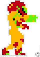 "Nintendo NES 8-bit Metroid 4"" Vinyl Decal Sticker Emblem"