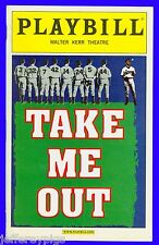 Playbill + Take Me Out + Opening Night + Daniel Sunjata, Denis O'Hare, Neal Huff