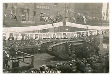 rp14247 - WWI Tank at York , Yorkshire - photo 6x4