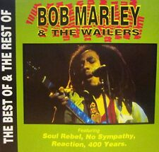 Bob Marley And The Wailers(CD Album)The Best Of & The Rest Of-Action Replay-New