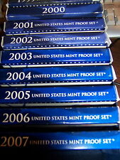 READ! 1 PROOF SET YEARS VARY BETWEEN 1999S- 2006S PROOF SET READ!- 1 PROOF SET#5