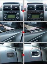Chrome Interior Air Vent Duct Trim Cover for 05~09 Hyundai Tucson w/Tracking No.
