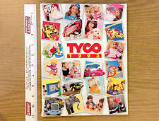 182pg 1993 TYCO TOYS TCR Slot Car Race Track Matchbox +RC Radio Control Catalog