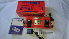 Console color TV-GAME 15 nintendo 1977 import JAP JPN rare  ctg-15v CIB