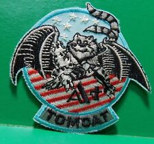 Tomcat F-14  A+ Embroidered Military US Navy  Iron On  Patch Unused 3 1/8 X 3