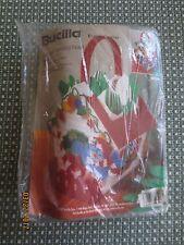 Bucilla Christmas Birdhouse Basket Plastic Canvas Needlepoint Sealed Kit #61244