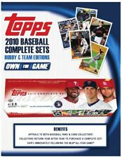 2010 TOPPS COMPLETE HOBBY SET BASEBALL FACTORY SEALED 661 CARDS+5 RED parallels