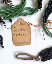 Antique Zulu 19th Century Cape Colony South Africa Beaded Necklaces