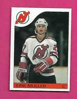 1985-86 TOPPS # 84 DEVILS KIRK MULLER ROOKIE NRMT-MT  CARD (INV# C3174)