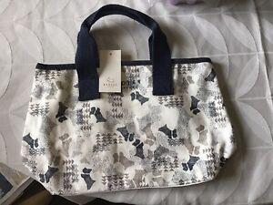 Radley London Data Dog Small Canvas Grab Bag