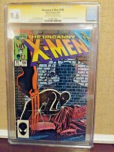 Uncanny X-Men (1st Series) #196 1985 CGC 9.6 SS Stan Lee Signed XMen Wolverine