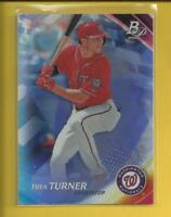Trea Turner 2017 Bowman Platinum Card # 99 Washington Nationals Baseball MLB