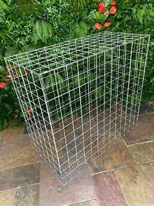 Gabion Basket Steel Retaining Stone Garden Wall 100cm x 50cm x 50cm