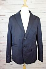 NEW Armani Exchange A|X Men's Two Button Blazer Jacket Black MSRP $220