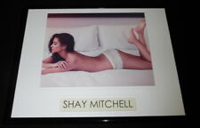 Shay Mitchell Topless Lingerie Framed 11x14 Photo Display