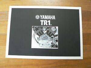 YAMAHA BROCHURE TR1  TR 1 PROSPEKT FOLDER MOTORRAD BIKE 1981 ?
