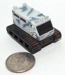 Small Micro Machine Plastic Military Sno-Cat in Winter Camouflage