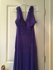 NWT BCBG Maz Azria Long Gown Purple Size M