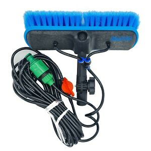 """IGADPOLE 10""""(25cm) Soft Bristle Water-fed Brush and Angled Adapters"""