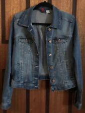 Near New Divided By H&M Stretch Denim Jacket - US 12/EUR 42