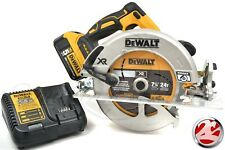 "DEWALT DCS570B 7-1/4"" 20V MAX XR 5.0 Ah Lithium Ion Cordless Circular Saw Kit"