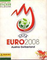 Panini EM 2008 in Schweiz/Österreich aus Liste 20 Sticker aussuchen auch Glitzer