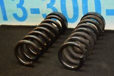 08-14 W204 MERCEDES C250 C300 C350 REAR LEFT AND RIGHT COIL SPRING PAIR #2
