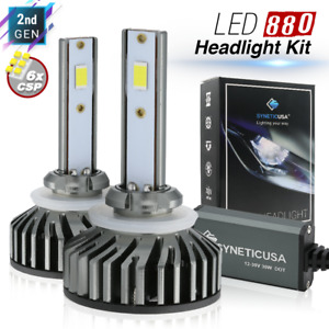 880 893ST LED 6000K White CSP High Lumen Projector Headlight/Fog Light Bulbs