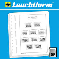 LEUCHTTURM SF-Vordruckblätter Deutsches Reich Memelgebiet 1920-1923,1939 (304818