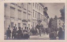 * UDINE - Durante l'invasione WWI Funerali medico Maina 1918 Brisighelli