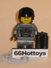 LEGO Space Police 5973 Space Police Officer minifigure New