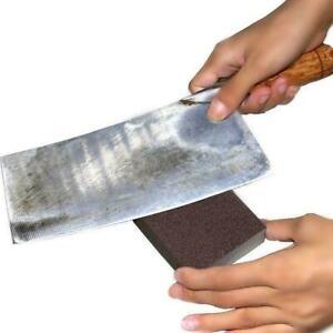 Carborundum Brush Sponge Kitchen Washing Decontamination Rust Brush B1T2
